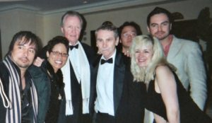 John Voight with students