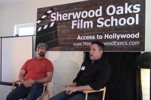 Sherwood Oaks Film School Sign